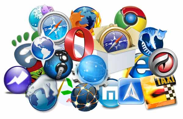 List of most popular internet browsers